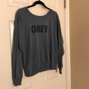 Obey pullover sweater
